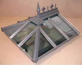 Anthracite Gray Conservatory Roof Colour