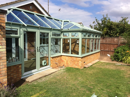 Chartwell Green Conservatory Roof Colour